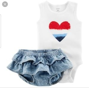 Carter's America Infant Outfit